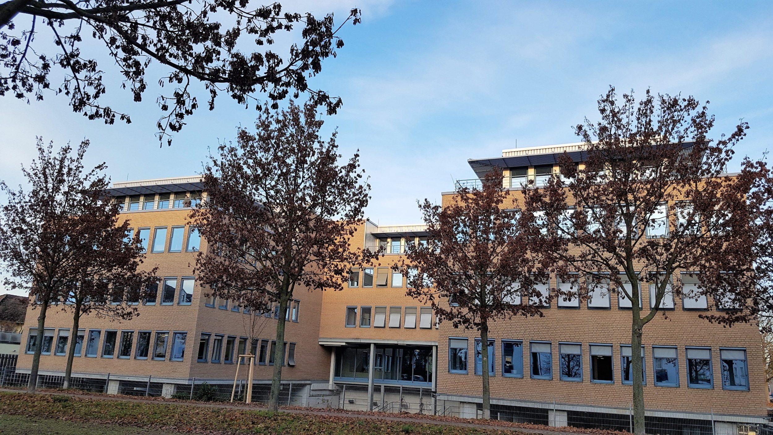 Infocient Bürogebäude Rückansicht
