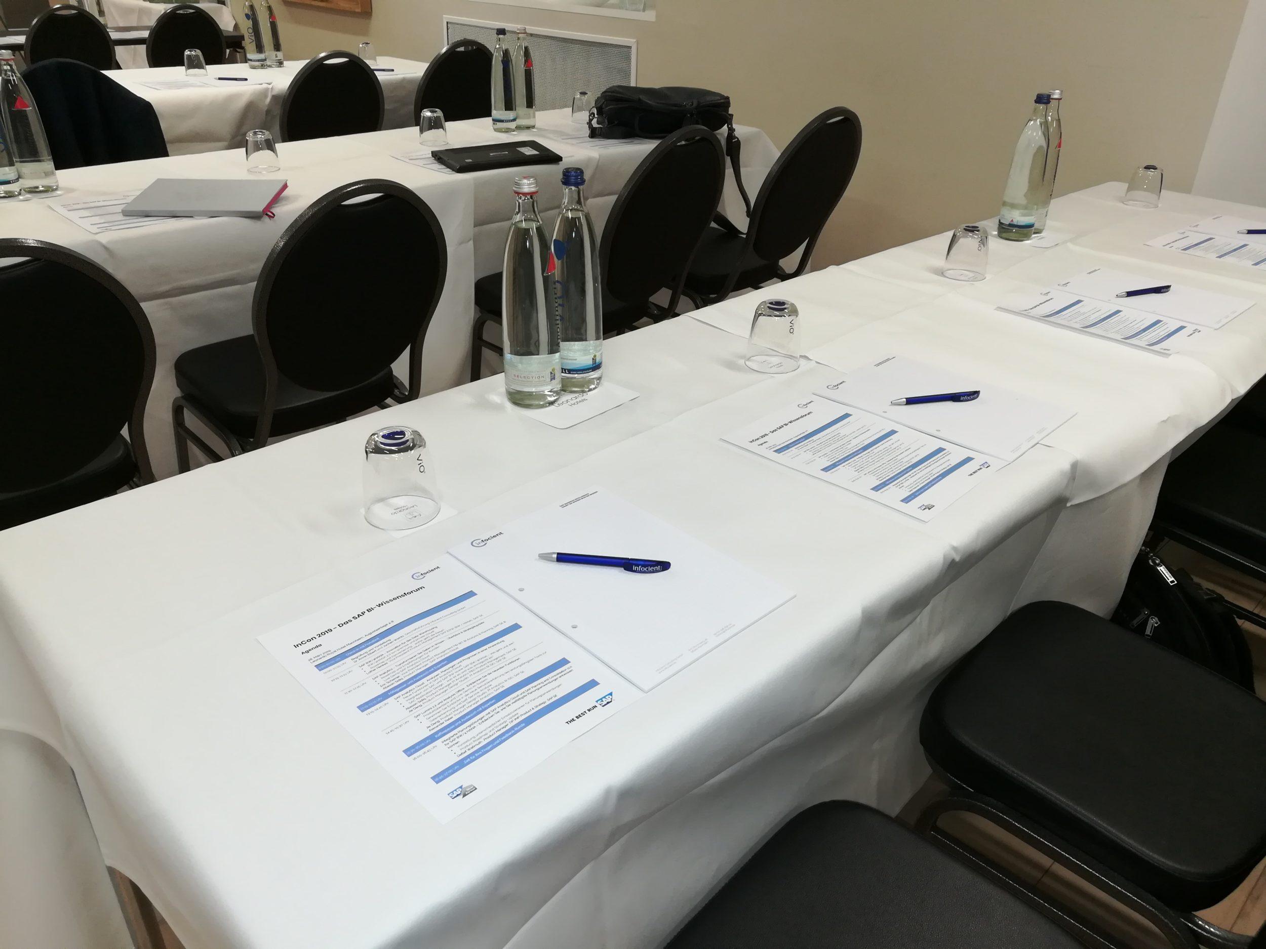 InCon 2019 _Konferenztische
