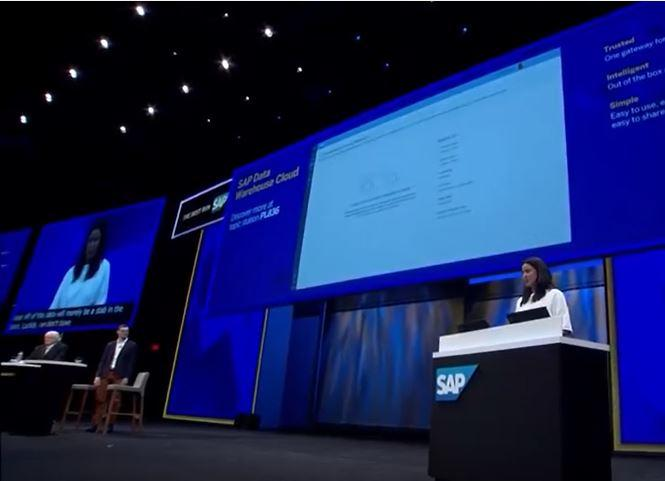 Keynote SAPPHIRE SAP Data Warehouse Cloud