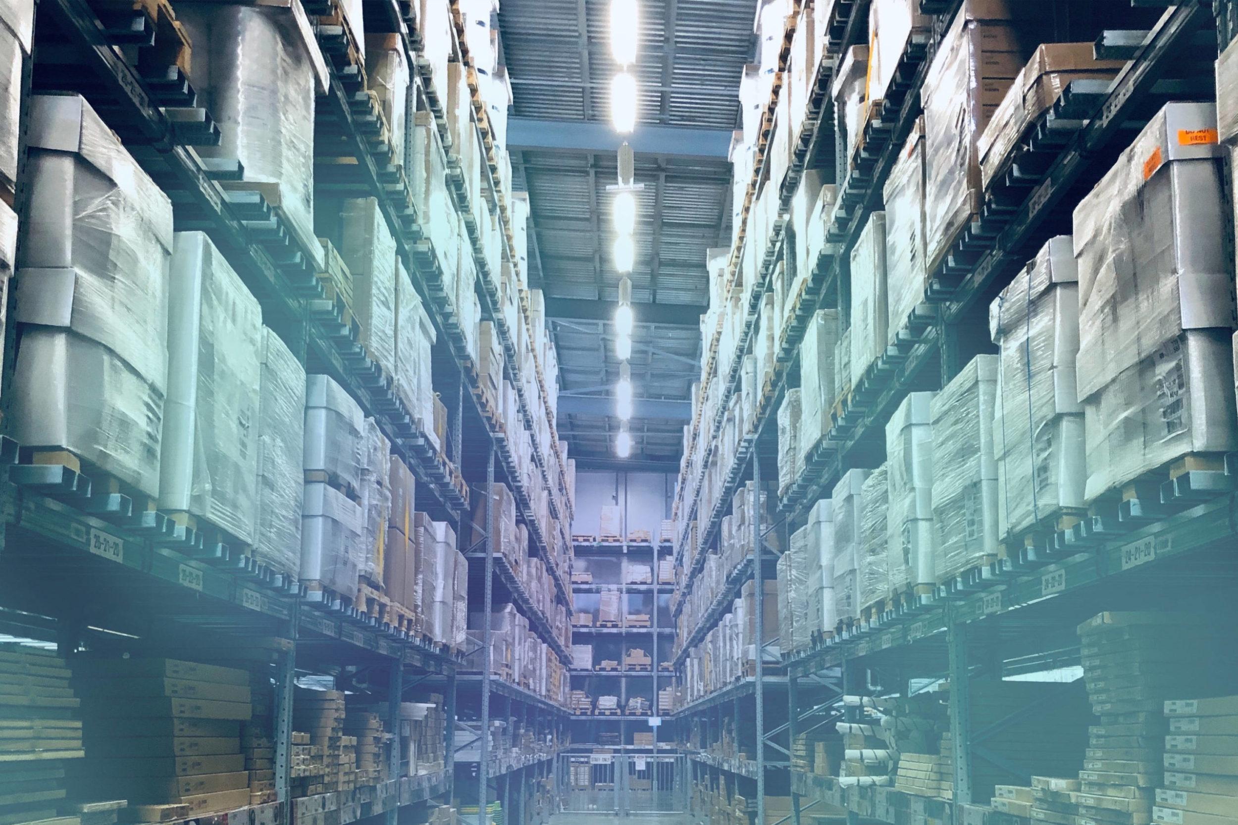 Warenlager verbildlicht Migration zu SAP BW/4HANA