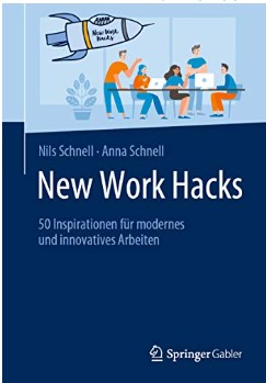 Cover des Buchs New Work Hacks