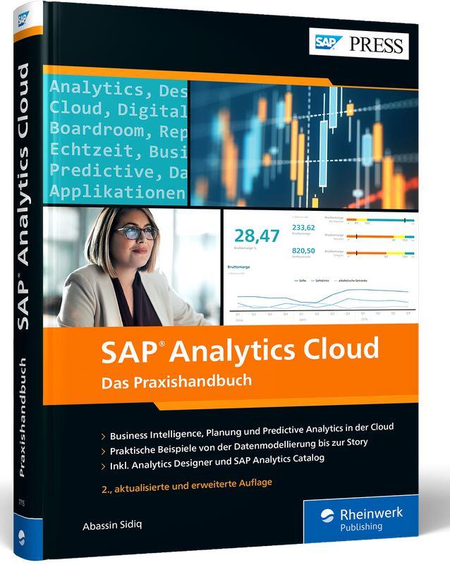 Cover SAP Analytics Cloud das Praxishandbuch