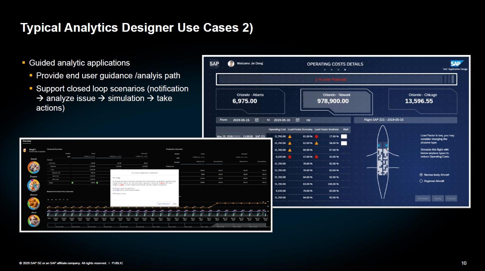 SAP Analytics Designer Geführte Analyse