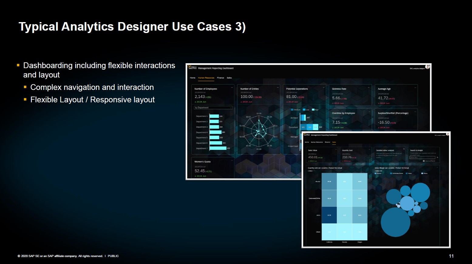 SAP Analytics Designer Anwendung 3 Anpassung