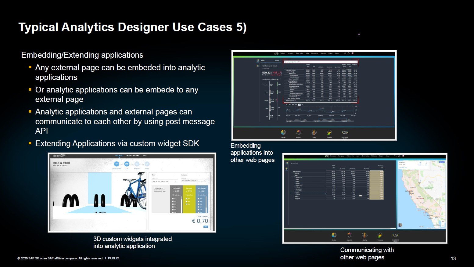 SAP Analytics Designer Anwendung 5 Embedding