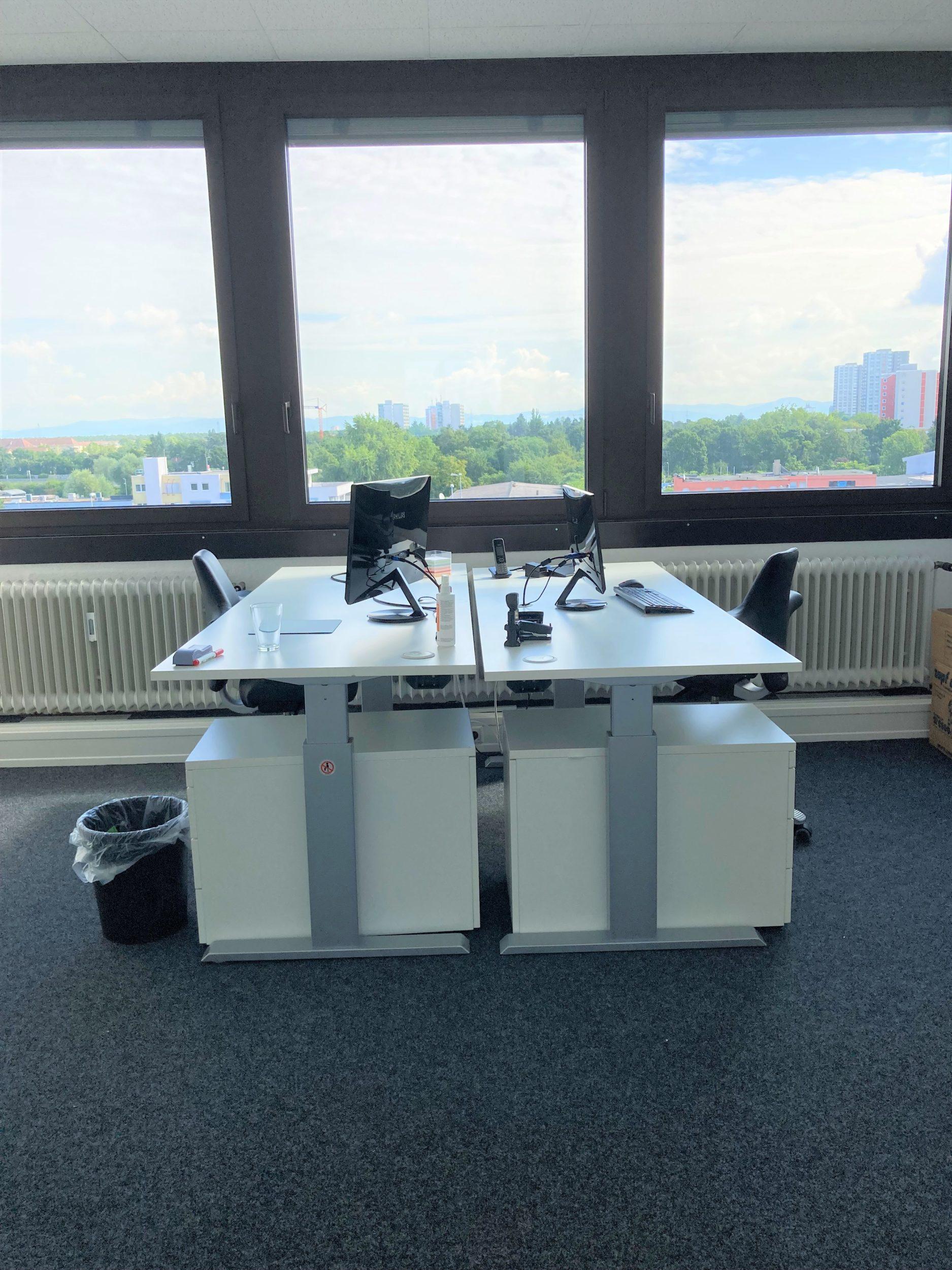 Büro der Infocient Geschäftsführung