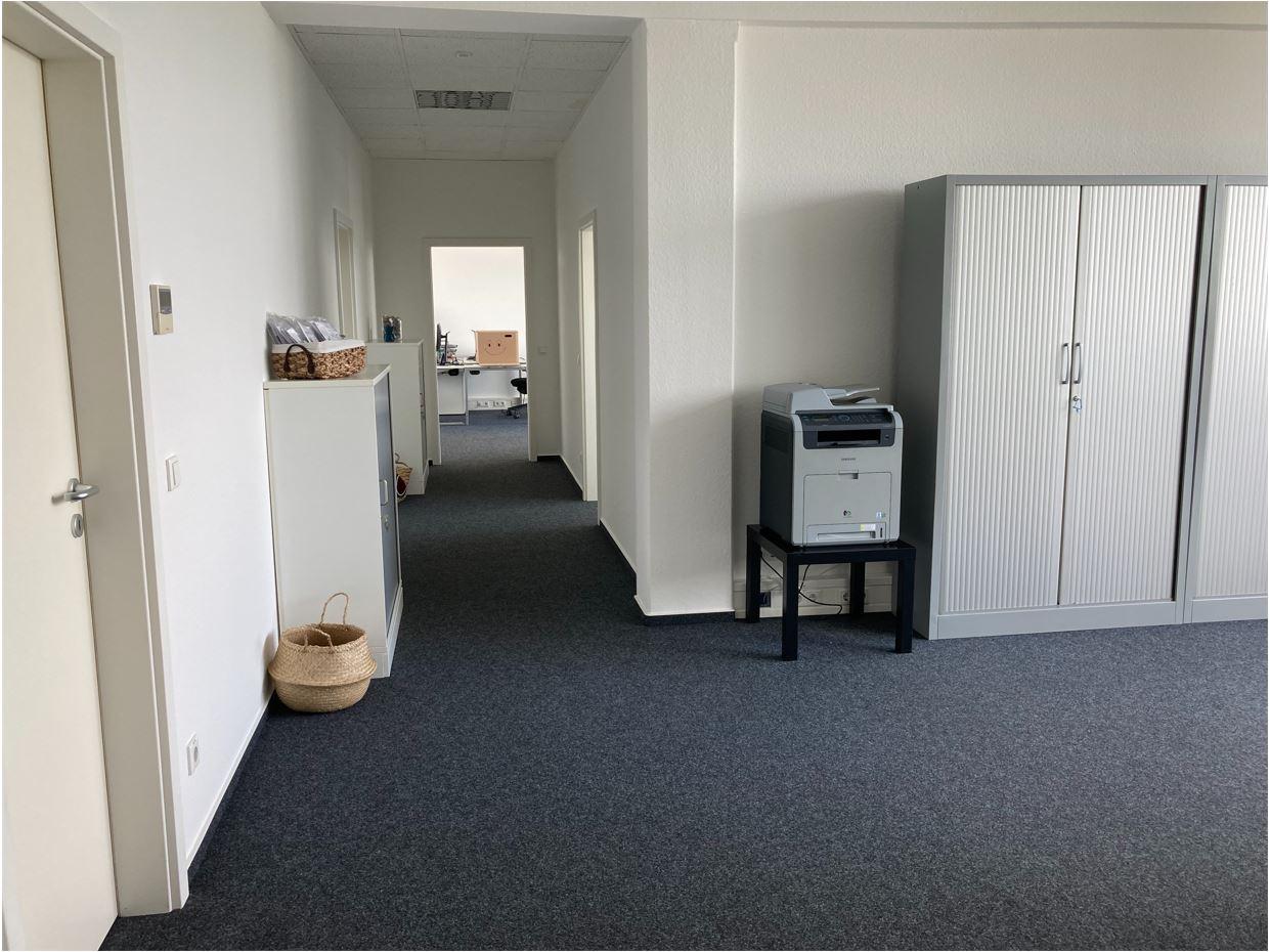 Eingangsbereich Infocient Büro